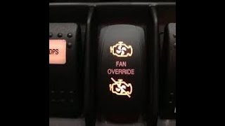 10. Can Am Commander Fan Override Install