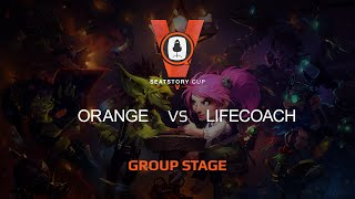 Lifecoach vs Orange, game 1