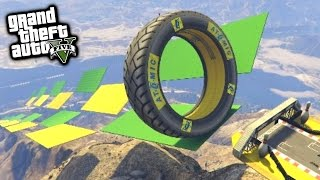 FASTEST BIKE PARKOUR! - GTA 5 Funny Moments #645