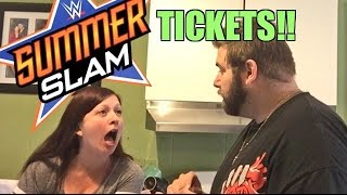 HEEL WIFE RAGES GRIM GOT WWE SUMMERSLAM TICKETS FROM SEATGEEK!