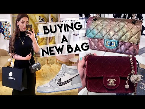 Buying A New Chanel Bag From Métiers D'art Collection Dior Air Jordan, Amina Muaddi & LV S… видео