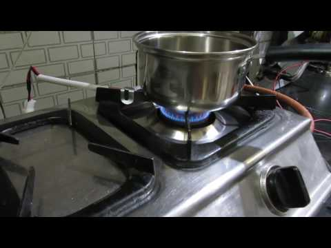 Auto Fan switch for kitchens using gas stoves