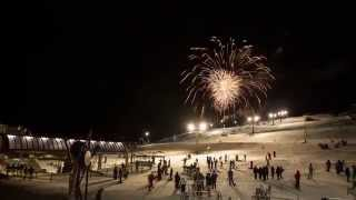 Perisher Night Skiing Front Valley