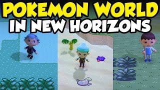 How To Make A POKEMON WORLD In Animal Crossing New Horizons! by Verlisify