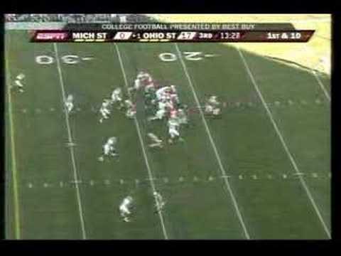 Ohio State Vs. Michigan State Football 2007