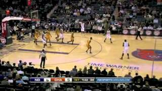 Kwame Brown misses the open dunk and the ball flies out to halfcourt