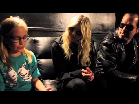 pretty - Piper interviewed Taylor Momsen and Mark Damon of The Pretty Reckless at the Newport Music Hall in Columbus, Ohio on Oct.28, 2014. Intro song: