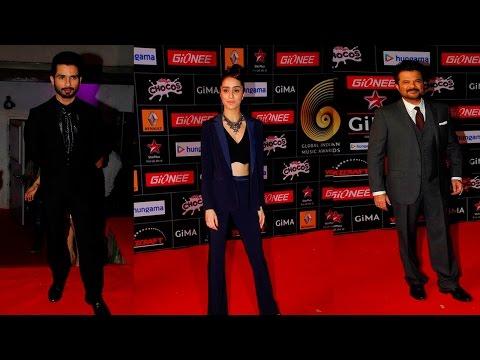 Shahid Kapoor, Shraddha Kapoor & Other Celebs At Red Carpet Of Gima Awards