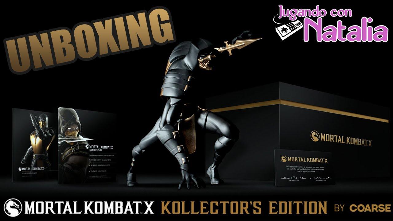 UNBOXING | Mortal Kombat X Kollector's Edition