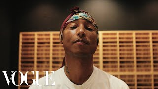 In the Studio With Pharrell Williams   Vogue