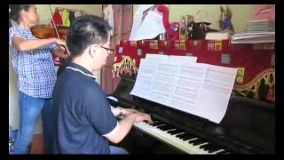 Ku Ingin di Dekat-Mu (Piano & Violin Cover)