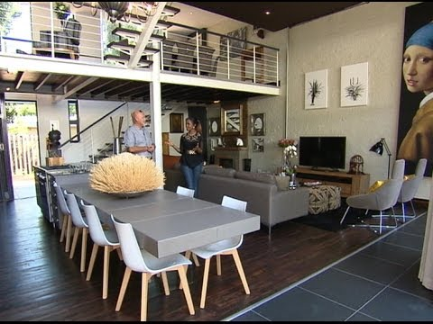 Top Billing features a trendy fire station inspired home