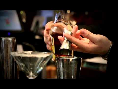 How to make an 'Apple Sidecar' cocktail, from Channings Bar & Restaurant Edinburgh