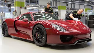 How To Make A Porsche 918 Spyder: Video