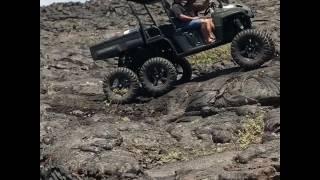9. Big island style!! In the lavas. Polaris ranger 6x6