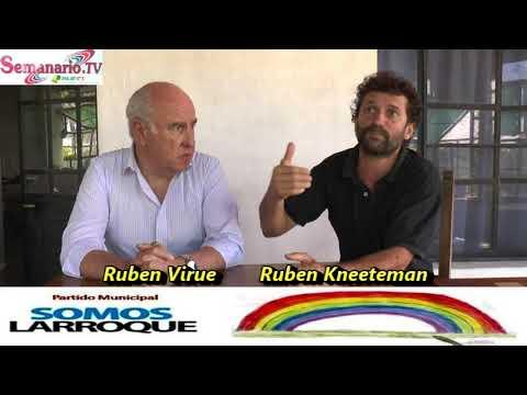 """La Nueva Fuerza Política Local, """"Somos Larroque"""" Fue Presentada por  Rubén Virué y Rubén Knneteman."""