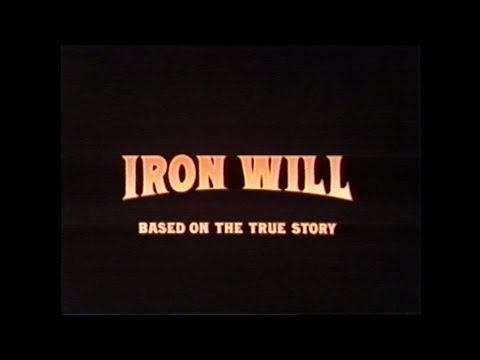 IRON WILL MOVIE TRAILER [VHS] 1994