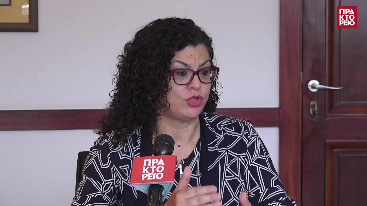 Δηλώσεις της διοικήτριας του ΟΑΕΔ Μαρίας Καραμεσήνη στο ΑΠΕ-ΜΠΕ