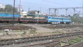 Mughalsarai India  city images : Departing from Mughal Sarai Junction, largest yard in India (pt. 1/2): ASR- SDAH Express
