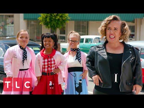 The Johnstons' Grease Music Video   7 Little Johnstons