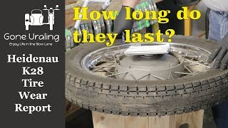 5. Heidenau K28 Tires - Tread Life Review