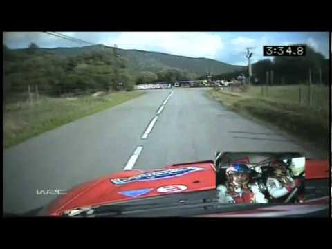 sebastien loeb - daniel elena on-board wrc rally tour de corse 2004.