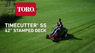 10. New Deck Design on Toro® TimeCutter® Zero Turn