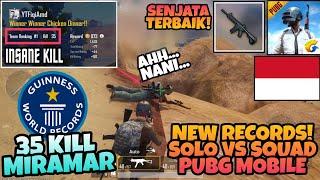 Video SOLO VS SQUAD PUBG MOBILE New Records Highest 35 Kills In Miramar ! PUBG MOBILE INDONESIA MP3, 3GP, MP4, WEBM, AVI, FLV Agustus 2018