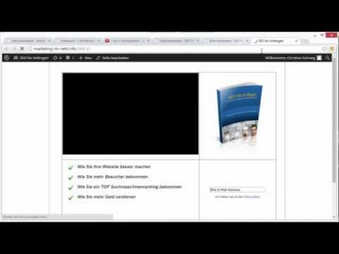 WordPress Landing Page Theme erstellen einer Squeeze Page Teil 2