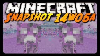 Minecraft Snapshot - 14w05a - Barrier Blocks, Spectator Mode&More!