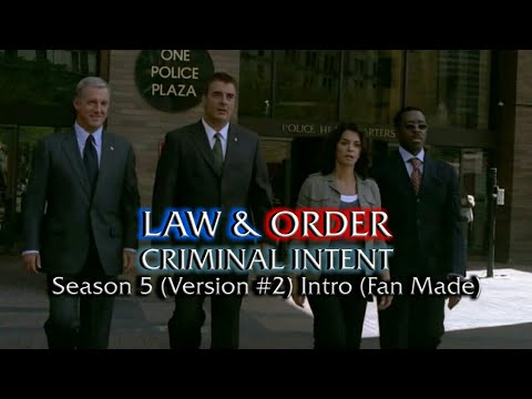 Law & Order: Criminal Intent: Season 5 (Version #2) Intro (Fan Made)