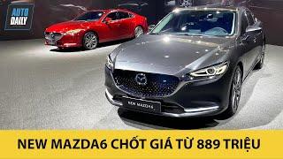 New Mazda6 2020 chốt giá SỐC từ 889 triệu, PHẢ HƠI NÓNG lên Camry, Accord