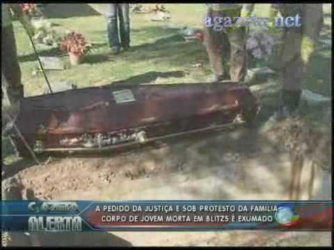 Justiça pedi a exumação do corpo de Edna sob protesto da família