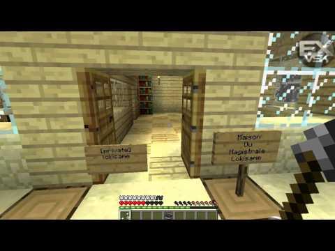 Minecraft - Visite Improvisée des villes !