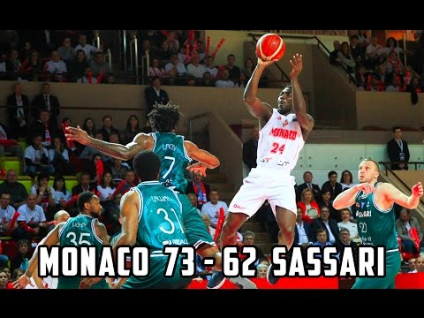 BCL — Monaco 73 - 62 Sassari — Highlights