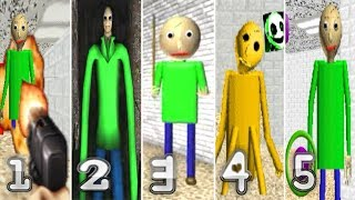 5 Baldi's Basics in Education and Learning Fan Games