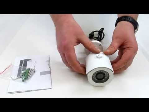 Video guide of 1000TVL 20M IR Day Night 3.6mm Bullet Camera (White)