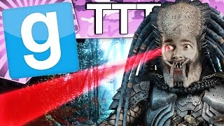 I AM THE PREDATOR - Gmod TTT (Garry's Mod Funny Moments)