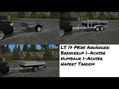 Hapert tandem trailer v1.0