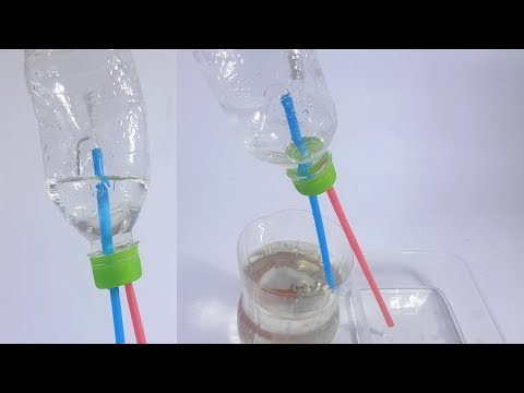 Thí nghiệm hút nước không cần động cơ - Thời lượng: 4:54.