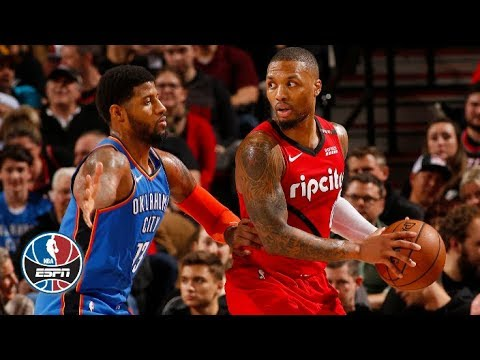 Video: Paul George, Russell Westbrook help Thunder outlast Trail Blazers | NBA Highlights