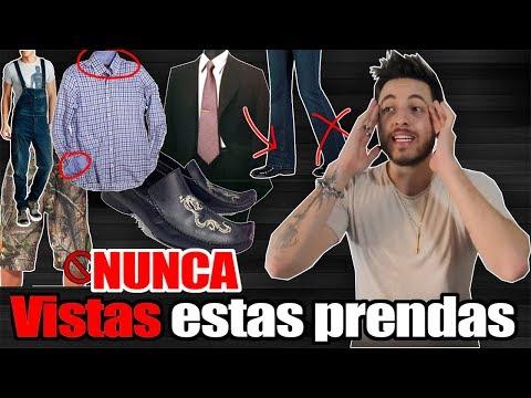 10 PRENDAS QUE NUNCA DEBERIAS UTILIZAR | JR Style For Men