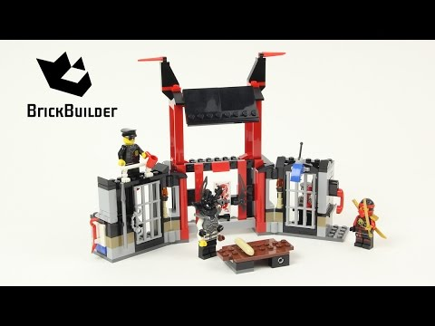 Vidéo LEGO Ninjago 70591 : L'évasion de la prison de Kryptarium