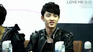 Download Lagu 120421 exo-k 경수 DO coex fan sign event Mp3