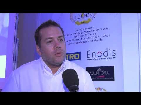 Interview d'Arnaud Lallement élu Chef de l'Année 2014