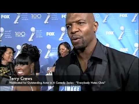 Terry Crews on the Red Carpet at the 40th NAACP Image Awards
