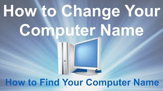 How to Change Your Computer Name  How to Find Your Computer Name is a how to video that will show you in easy steps how to find and change your computer name easily and quickly.https://youtu.be/ufOLVqKE3dghttps://www.youtube.com/channel/UCFBxyLMer62Dr4cmdMeQP4A