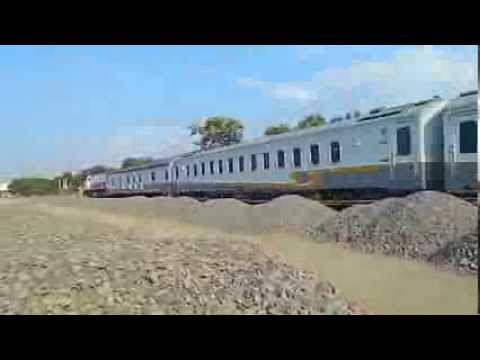 Train at Jerakah: Argo Muria, Menoreh, Kaligung, & Argo Bromo Anggrek