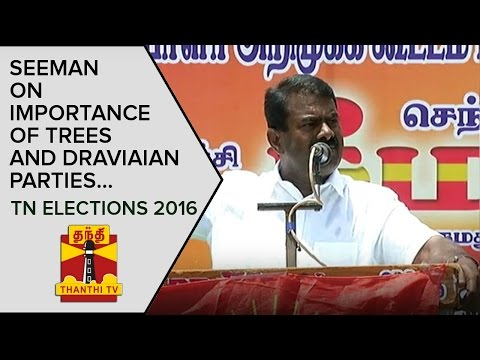 NTK-Chief-Seeman-on-Importance-of-Trees-and-Dravidian-Parties-Thanthi-TV