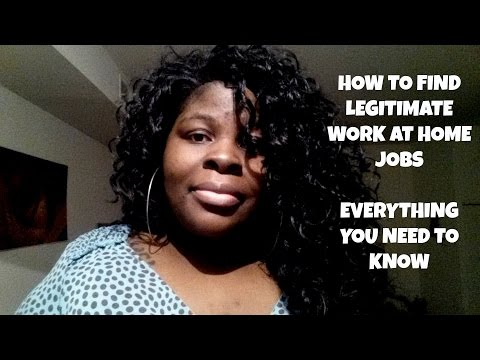 How to Find Legitimate Work at Home Jobs | EVERYTHING YOU NEED TO KNOW!